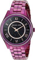Michael Kors Women's 'Lauryn' Quartz Stainless Steel Casual Watch, Color: (Model: MK3724)