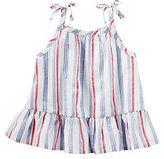 Osh Kosh Baby Girl Striped Drop-Waist Tank Top