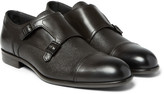 Hugo Boss - Manhattan Leather Monk-strap Shoes