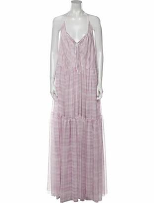 Jacquemus 2020 Long Dress Purple