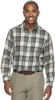 Columbia Big & Tall Notched Peak Classic-Fit Plaid Button-Down Shirt