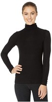 Beyond Yoga Turtleneck Pullover (Black) Women's Clothing