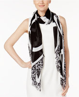 Calvin Klein Abstract Logo Scarf