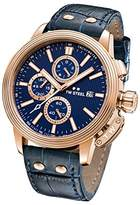 TW Steel 'CEO Adesso' Quartz Stainless Steel Casual Watch, Color:Blue (Model: CE7016)