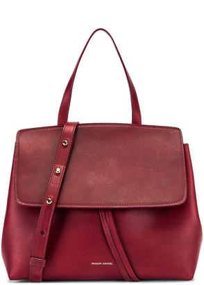 Mansur Gavriel Mini Lady Bag in Bordo | FWRD