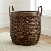 Crate & Barrel Halton Large Basket