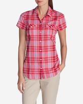 Eddie Bauer Women's Packable Short-Sleeve Shirt