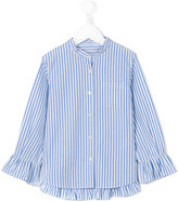 Simonetta striped shirt - kids - Cotton - 8 yrs