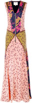 Roksanda multi-print long dress - women - Silk/Polyamide/Acetate - 6