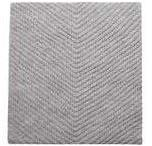 Dorothy Perkins Womens Grey Chevron Knitted Scarf- Grey