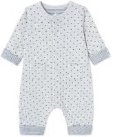 Petit Bateau Babys unisex tube knit jumpsuit