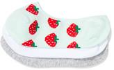 Dotti 3Pk Strawberry Sock