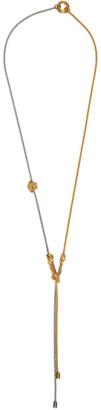 Versace Gold Bi-Color Necklace