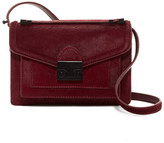 Loeffler Randall Mini Rider Genuine Calf Hair Crossbody