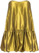 Au Jour Le Jour Mini Strapless Dress
