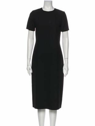 Jenni Kayne Crew Neck Midi Length Dress w/ Tags Black