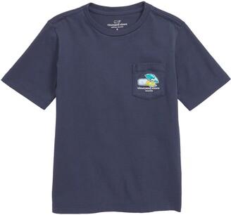 Vineyard Vines Seattle Whale Pocket T-Shirt