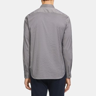 Theory Murray Shirt in Tech Shirting