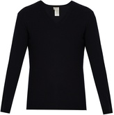 Bottega Veneta V-neck cashmere sweater