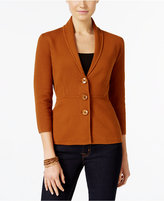 Alfani Petite Shawl-Collar Blazer, Only at Macy's