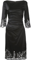Talbot Runhof Love Lace dress - women - Polyamide/Polyester/Spandex/Elastane/Cupro - 34