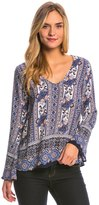 Lucy-Love Lucy Love Patchouli Rose Moon Child Top 8148127