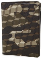 Pierre Hardy Cube And Camouflage-print Passport Holder