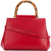 Gucci Nymphaea tote bag - women - Calf Leather/Bamboo - One Size