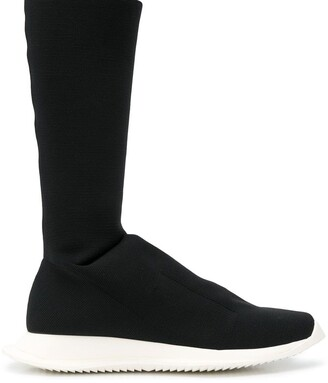 Rick Owens Sock Boot Sneakers