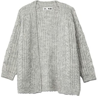 Cotton On Cooper Cardigan (Toddler/Little Kids/Big Kids) (Earth Clay) Girl's Clothing