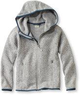 L.L. Bean Kids' Bean's Sweater Fleece, Hooded