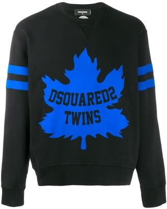 DSQUARED2 Twins Logo Sweatshirt