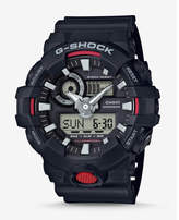 Express G-shock Black And Red Front Button Watch