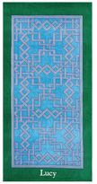 Pottery Barn Branson Beach Towel - Blue/Green