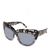 House Of Harlow Chelsea Sunglasses in Grey Tortoise