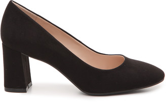 Women's Liya Pumps Black Size 6 Faux Suede From Sole Society