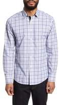 Vince Camuto Slim Fit Boucle Plaid Sport Shirt