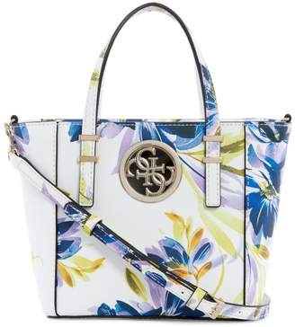 GUESS Mini Open Road Floral-Print Tote