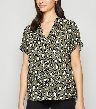 New Look Animal Print Overhead Shirt