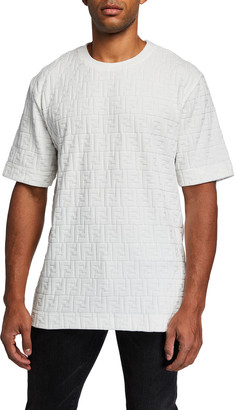 Fendi Men's Chenille FF Tee