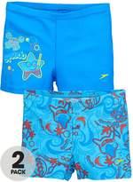 Speedo Toddler Boys Sea Squad 2 Pack Aquashorts