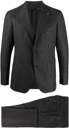 Tagliatore Lapel-Pin Formal Suit