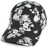 Converse Women's Tropical Floral Print Baseball Cap
