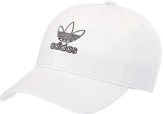 adidas Originals Relaxed Outline (Black/White) Caps