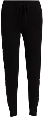 Generation Love Camilla Wool & Cashmere-Blend Heart Joggers