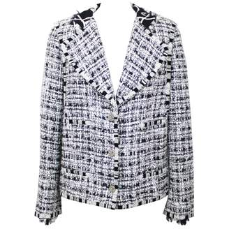 Chanel White Tweed Jackets