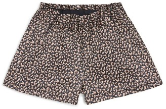 Bonton Leopard Shorts (4-12 Years)