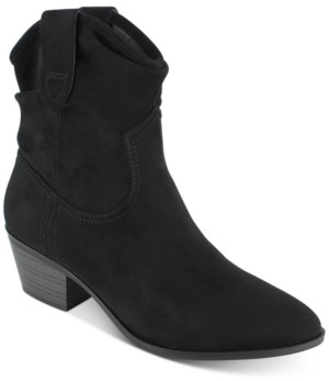 Esprit Polina Pleated Western Booties Women's Shoes