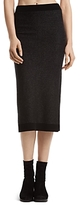 ATM Anthony Thomas Melillo Pinstriped Wool-Cashmere Pencil Skirt