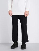 Neil Barrett Mid-rise gabardine trousers